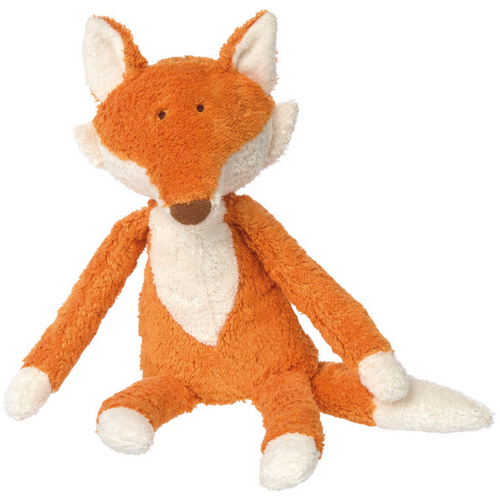 Sigikid Organic Fox Plush Toy | Baby's First Toy | Front View | BeoVERDE.ie