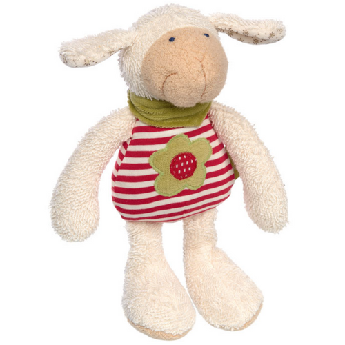 Sigikid Organic Sheep Plush Toy | Baby's First Toy | Front View | BeoVERDE.ie