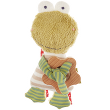 Load image into Gallery viewer, Sigikid Organic Frog Rattle and Teether | Front | BeoVERDE.ie