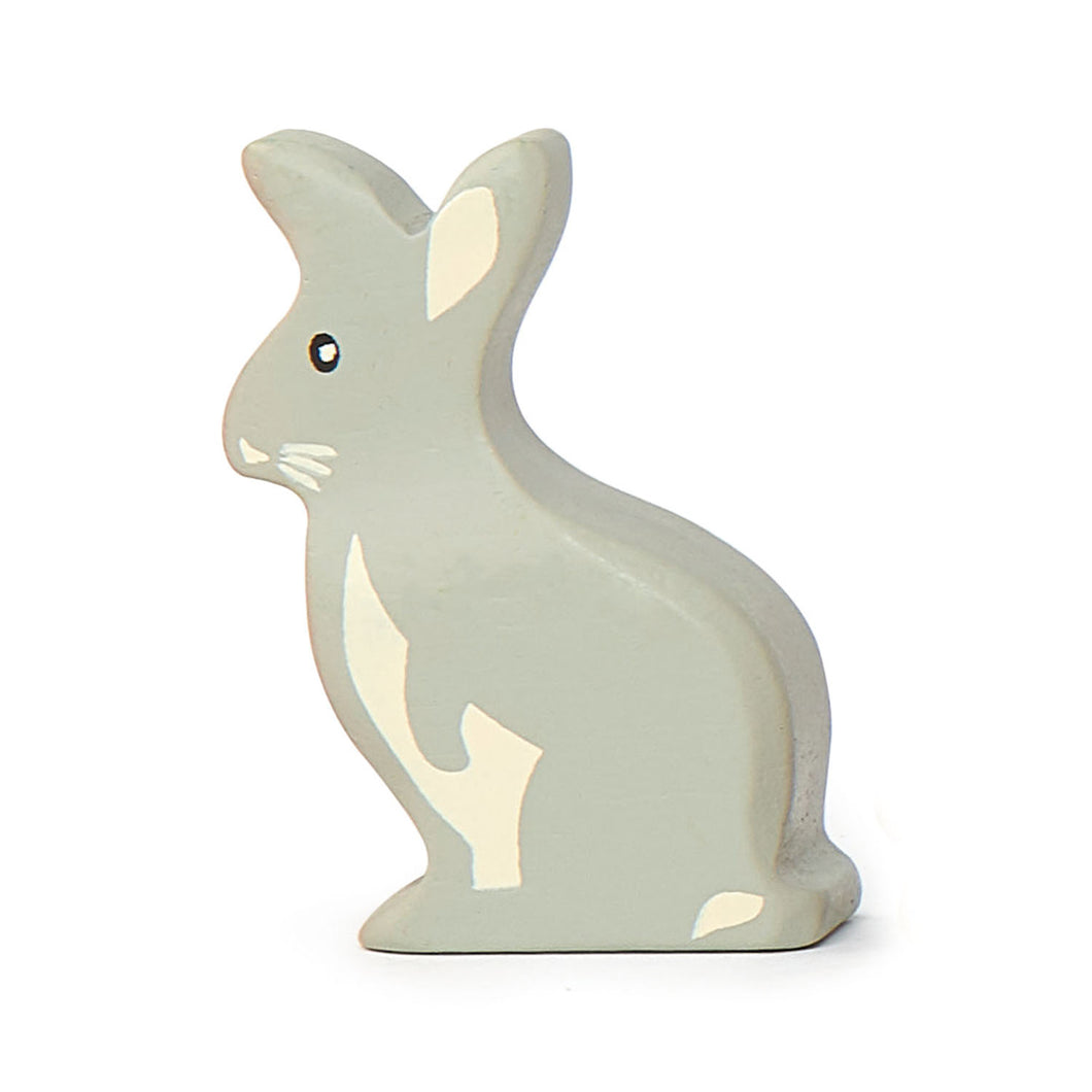 TenderLeaf Woodland Rabbit | Hand-Crafted Wooden Animal Toy | BeoVERDE.ie