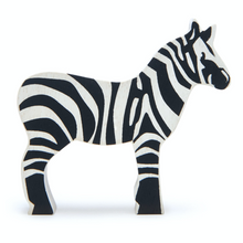Load image into Gallery viewer, Tender Leaf Safari Zebra | Hand-Crafted Wooden Animal Toy | BeoVERDE.ie