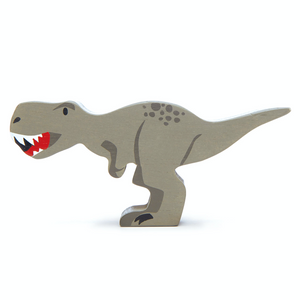 Tender Leaf Tyrannosaurus Rex | Hand-Crafted Wooden Animal Toy | BeoVERDE.ie