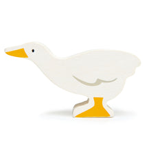 Load image into Gallery viewer, TenderLeaf Farmyard Goose | Hand-Crafted Wooden Animal Toy | BeoVERDE.ie