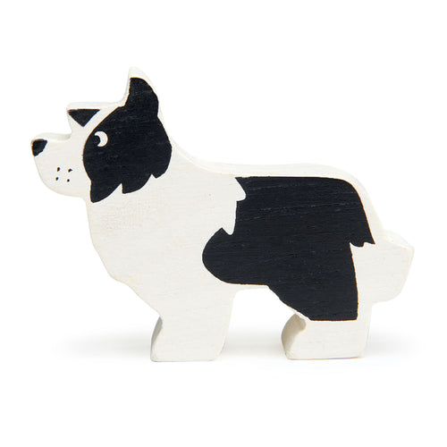 TenderLeaf Farmyard Shepherd Dog | Hand-Crafted Wooden Animal Toy | BeoVERDE.ie