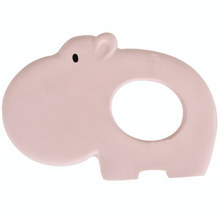 Load image into Gallery viewer, TIKIRI Natural Rubber Baby Teether 'Hippo' | BeoVERDE.ie