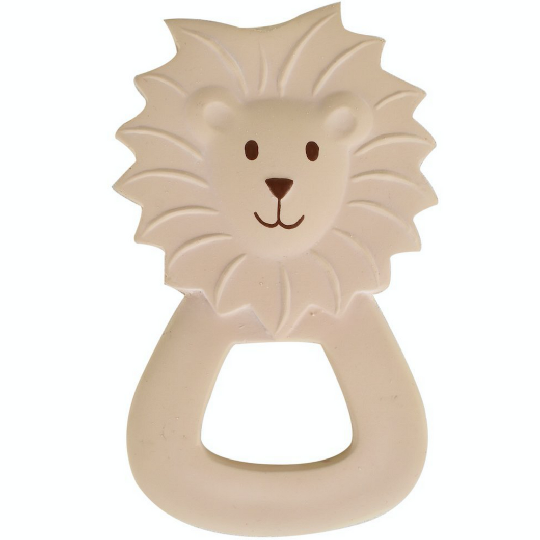 Lion | Natural Rubber Baby Teether | Safe Natural Teething Toy