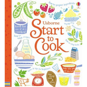 Start To Cook | Children's Cookbook | Usborne | Book Cover | BeoVERDE.ie