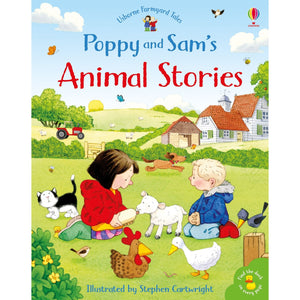 Poppy And Sam's Animal Stories | Children's Book on Farm Animals | Usborne | Book Cover | BeoVERDE.ie