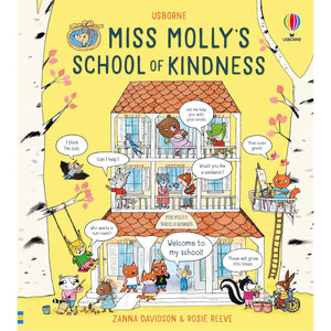 Miss Molly's School Of Kindness | Children's Book on Feelings and Emotions | Usborne | Book Cover | BeoVERDE.ie