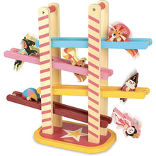 Load image into Gallery viewer, Vilac Acrobat's Cascade designed by Ingela P.Arrhenius | Wooden Toddler Activity Toy | Side View | BeoVERDE.ie