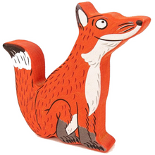 Load image into Gallery viewer, Bajo Wooden Gruffalo Fox Figure | BeoVERDE.ie