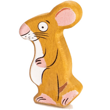 Load image into Gallery viewer, Bajo Wooden Gruffalo Mouse Figure | BeoVERDE.ie