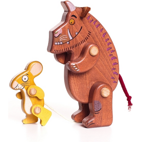 Bajo Wooden Gruffalo & Mouse Figures | Movable Arms & Legs | BeoVERDE.ie