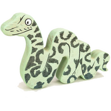 Load image into Gallery viewer, Bajo Wooden Gruffalo Snake Figure | BeoVERDE.ie