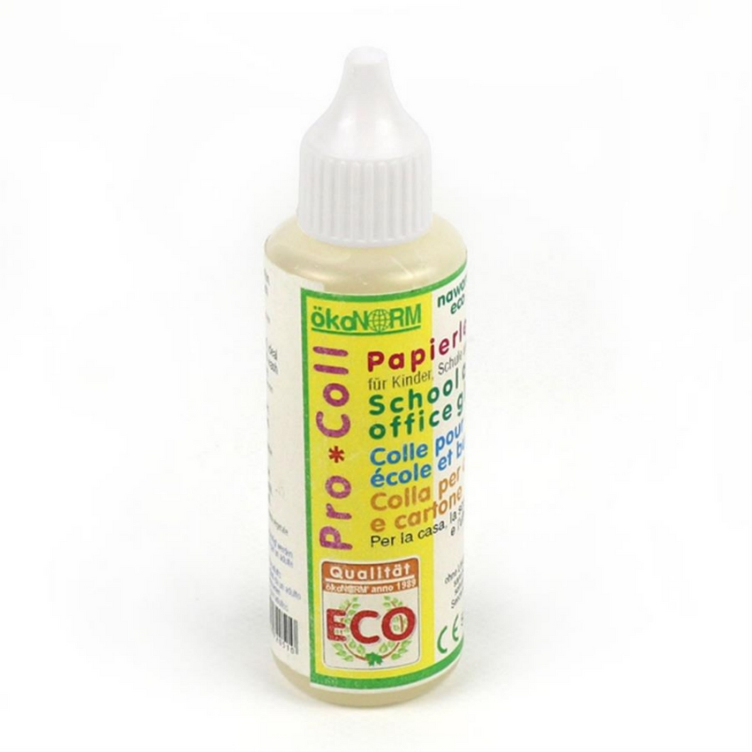 okoNORM All Purpose Paper Glue | Eco-Friendly, Non-Toxic & Vegan | Closeup 50ml Bottle | BeoVERDE.ie