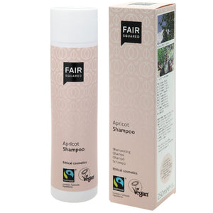 FAIR SQUARED Apricot Shampoo | Fairtrade Vegan Natural Halal | BeoVERDE.ie