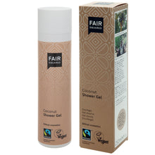 Load image into Gallery viewer, FAIR SQUARED Coconut Shower Gel | Fairtrade Vegan Natural Halal | BeoVERDE.ie