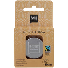 Load image into Gallery viewer, FAIR SQUARED Almond Lip Balm | Fairtrade Vegan Natural Halal | BeoVERDE.ie