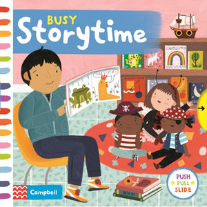 Busy Storytime | Interactive Children's Board Book