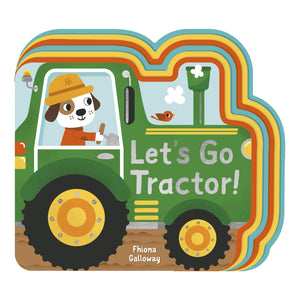 Let's Go, Tractor! | Children's Book on Farm Life