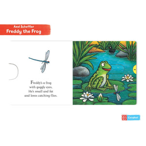 Freddy the Frog | Interactive Children's Board Book