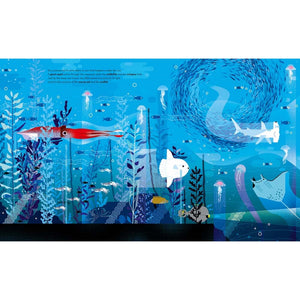 Deep in the Ocean | Children's Picture Book on Marine Life | Abrams Appleseed | Sample Page Octopus | BeoVERDE.ie