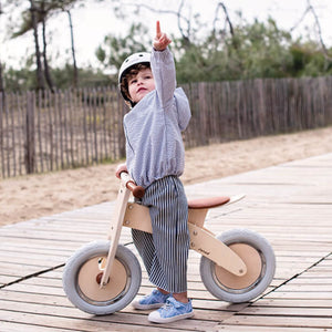 Janod Nature Balance Bike | Activity Wooden Toy| Bikes & Scooters | Lifestyle: Child with  Balance Bike | BeoVERDE.ie