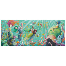 Load image into Gallery viewer, Londji MY MERMAID Jigsaw Puzzle | Designed by Sonja Wimmer Jigsaw Puzzle | Perfect Jigsaw Puzzle for Kids 6 Years and Older and Adults | Front View – Puzzle completed | BeoVERDE.ie