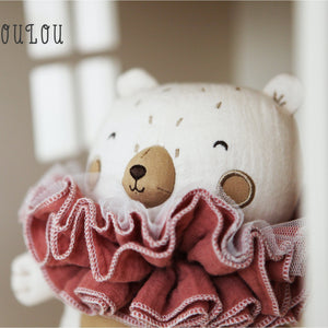 Picca LouLou The Bear & his Raggedy Ruff | Imaginative Play Toy | Soft Toy Made From Cotton | Lifestyle | BeoVERDE.ie