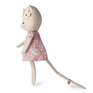 Picca LouLou Kitty Cat | Imaginative Play Toy | Soft Toy Made From Cotton | Standing - Side | BeoVERDE.ie