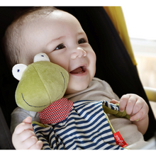 Load image into Gallery viewer, Sigikid Organic Frog Comforter | Baby's First Toy | Lifestyle | BeoVERDE.ie