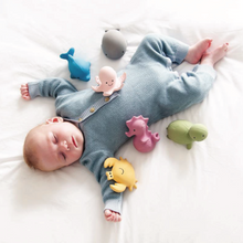 Load image into Gallery viewer, TIKIRI Natural Rubber Rattle & Bath Toy 'Crab' | Lifestyle | BeoVERDE.ie