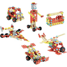 Load image into Gallery viewer, Vilac Wooden Construction Building Set 'Super Batibloc' | Educational Wooden Toy | Overview Vehicles | BeoVERDE.ie