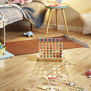 'Four Apples In A Row' Game designed by Ingela P.Arrhenius | Wooden Games and Puzzles | Wooden Educational Toy