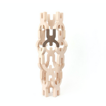 Load image into Gallery viewer, Bajo Mendelsons Balancing & Stacking Toy | 15 Wooden Figures | Tower | BeoVERDE.ie