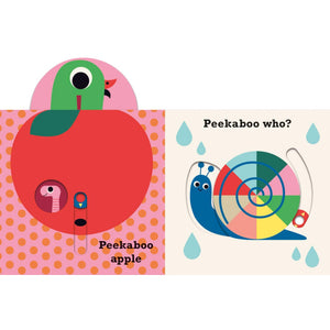 Peekaboo Apple | Interactive Board Book for Babies & Toddlers