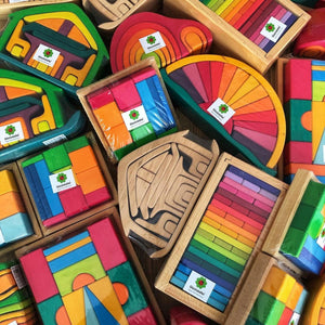Gluckskafer Wooden Toys | Imaginative Play Wooden Toys | Waldorf Education and Montessori Education | Selection of Toys | BeoVERDE.ie