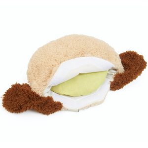Warming Pillow for Young Children | Dog | Cherry Stones | Inner Pillow Back | BeoVERDE.ie