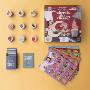 Londji WHERE IS THE CHEESE? Board Game | Board Game for Kids, Adults & the Whole Family | Box and All Items | BeoVERDE.ie