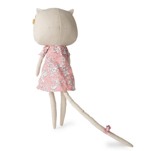 Picca LouLou Kitty Cat | Imaginative Play Toy | Soft Toy Made From Cotton | Standing - Back | BeoVERDE.ie