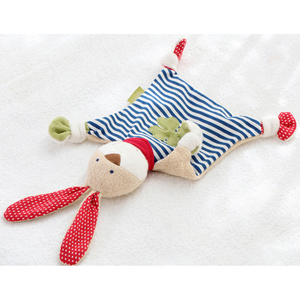 Sigikid Organic Rabbit Comforter | Baby's First Toy | Lifestyle 2 | BeoVERDE.ie