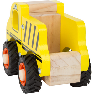 Small Foot Wooden Construction Site Vehicle | Rear View | BeoVERDE.ie