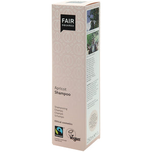 FAIR SQUARED Apricot Shampoo | Fairtrade Vegan Natural Halal | Box | BeoVERDE.ie