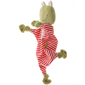 Sigikid Organic Frog Comforter | Baby's First Toy | Front Standing | BeoVERDE.ie