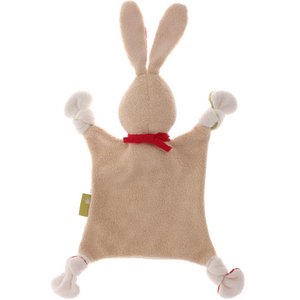 Sigikid Organic Rabbit Comforter | Baby's First Toy | Back | BeoVERDE.ie