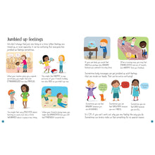 Load image into Gallery viewer, All About Feelings | Children's Book on Feelings and Emotions | Usborne | Sample Page | BeoVERDE.ie