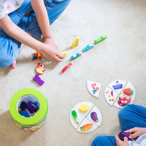 Vilac Wooden Game 'Feel And Find' | Wooden Toddler Activity Toy | Child Playing with Pieces | BeoVERDE.ie