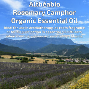 Organic Rosemary Camphor Essential Oil Aromatherapy | How To Use | BeoVERDE.ie