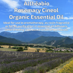 Organic Rosemary Cineol Essential Oil Aromatherapy | How To Use | BeoVERDE.ie