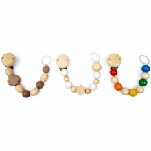 Load image into Gallery viewer, Grunspecht Natural Wooden Dummy Clip 'Rainbow' | Style Samples U-Shape | BeoVERDE.ie